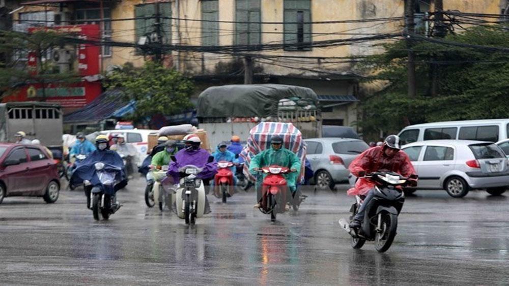 Bắc Bộ mưa lớn diện rộng, các tỉnh Trung Bộ tiếp tục nắng nóng